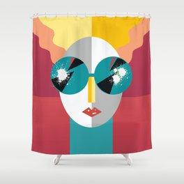 Big Shades Shower Curtain