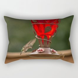 Hummingbird Legend Rectangular Pillow
