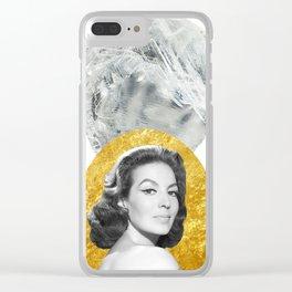 Maria Felix Clear iPhone Case