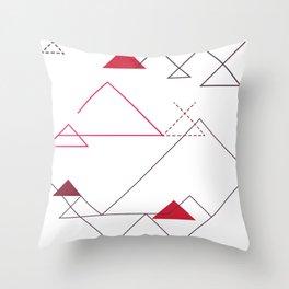 Tree-Angle Throw Pillow