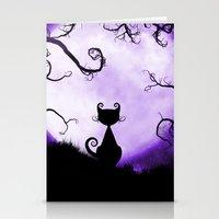 shadow Stationery Cards featuring Shadow by catherine62