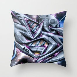 Ski Fi Future Throw Pillow