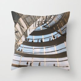 Reichstag Throw Pillow