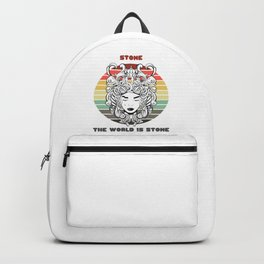 Sunset Gorgon / Stone, The World Is Stone Backpack