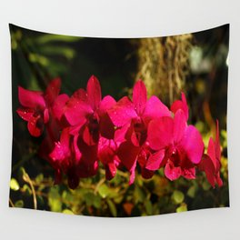 Lovely As An Orchid Wall Tapestry