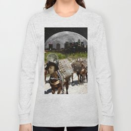 Black Women Are The Mules Of The Earth - Zora Neale Hurston Long Sleeve T-shirt