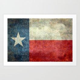 Texas flag Kunstdrucke