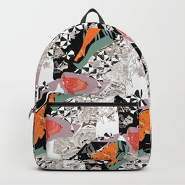 Koi Fish Contemporary Pattern Backpack