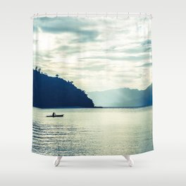 From dusk till dawn Shower Curtain