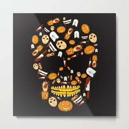Some Treats Are Trickier Than Others Metal Print