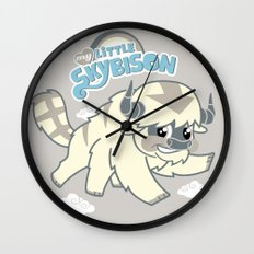 My Little Sky Bison Wall Clock