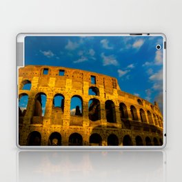 Sunset Over The Roman Colosseum Laptop & iPad Skin