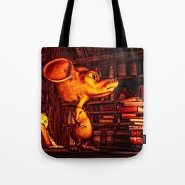 Mouse In The Magic Attic Tote Bag
