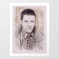 blade runner Art Prints featuring Blade Runner by harrylime