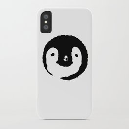 Baby Penguin Face iPhone Case