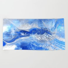 Forever Waves Beach Towel