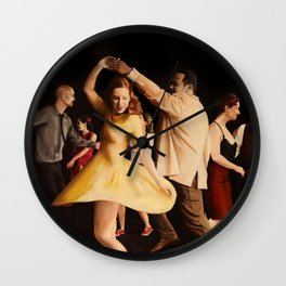 The Lindy Hop Party Wall Clock