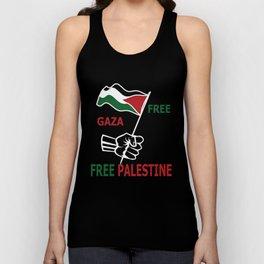 Free Palestine Unisex Tank Top