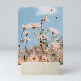 sunflower field ii Mini Art Print