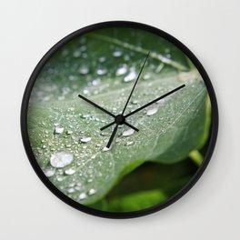 Fresh Nasturtium Wall Clock