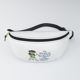 Picky Says: Yes, little girls can grow up to be the Vice-President of the United States of America Fanny Pack