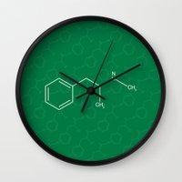 breaking Wall Clocks featuring Breaking Bad by Karolis Butenas