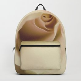 Centre of a pink rose Backpack