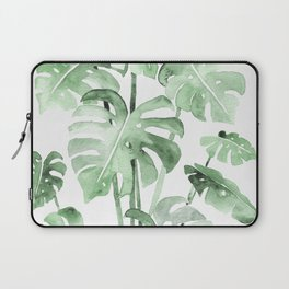 Delicate Monstera Green #society6 Laptop Sleeve