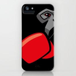 Gibbon Boxing iPhone Case
