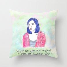 April Ludgate 2 Throw Pillow