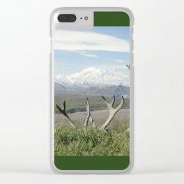 Alaska Mt. Denali Clear iPhone Case