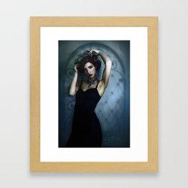 Just Whispers on Screens Framed Art Print
