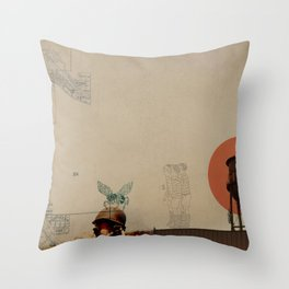 WaterTower Throw Pillow