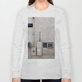 Back Alley Patterns - The Grid Long Sleeve T-shirt