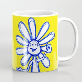 """Joy Inspires All Other Emotions"" Flowerkid Coffee Mug"