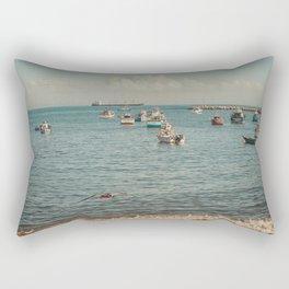 le port  Rectangular Pillow