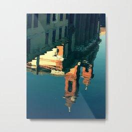Comacchio, Italy 3 (reflections) Metal Print
