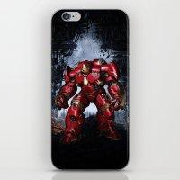 iron man iPhone & iPod Skins featuring IRON MAN iron man by alifart