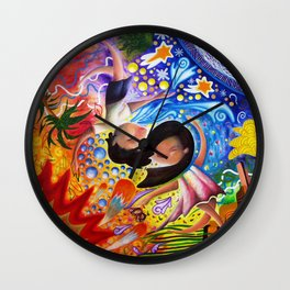 Opposite Attraction Wall Clock