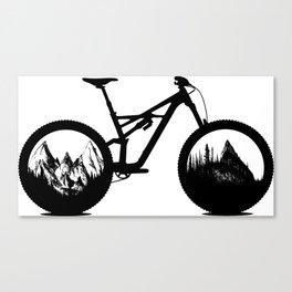 Enduro Canvas Print