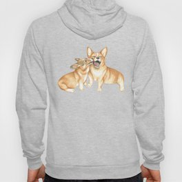 Corgi and Bess Hoody