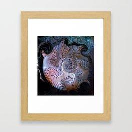 Fanservice Framed Art Print
