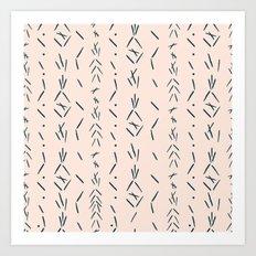 Spike Markings  Art Print