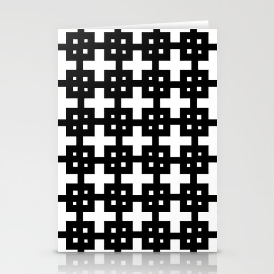 Telder Black & White Stationery Cards