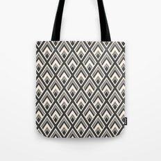 Diamond Pattern Light & Dark Tote Bag