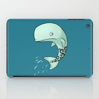 the whale iPad Cases featuring Whale by Freeminds