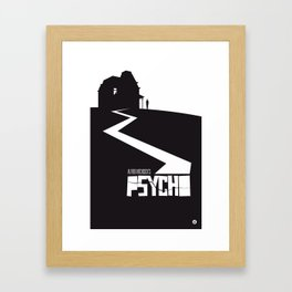 The Black Collection' Hitchcock Movie Framed Art Print