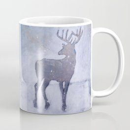 Winter Stag Coffee Mug