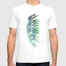 ELORAH White SMALL Mens Fitted Tee