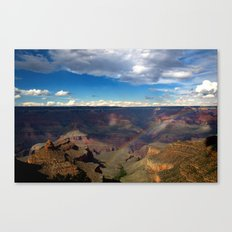 Grand Canyon National Park - Rainbow at South Rim Canvas Print